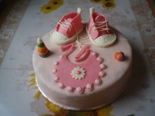 Детские » Торт с детскими кроссовками